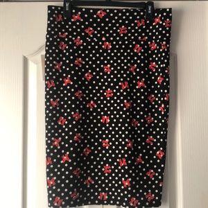 LuLaRoe Cassie Skirt - Large - NWT